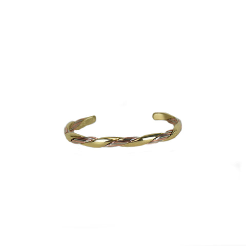 Grapevine Mixed Metal Bracelet by Sergio Lub Jewelry