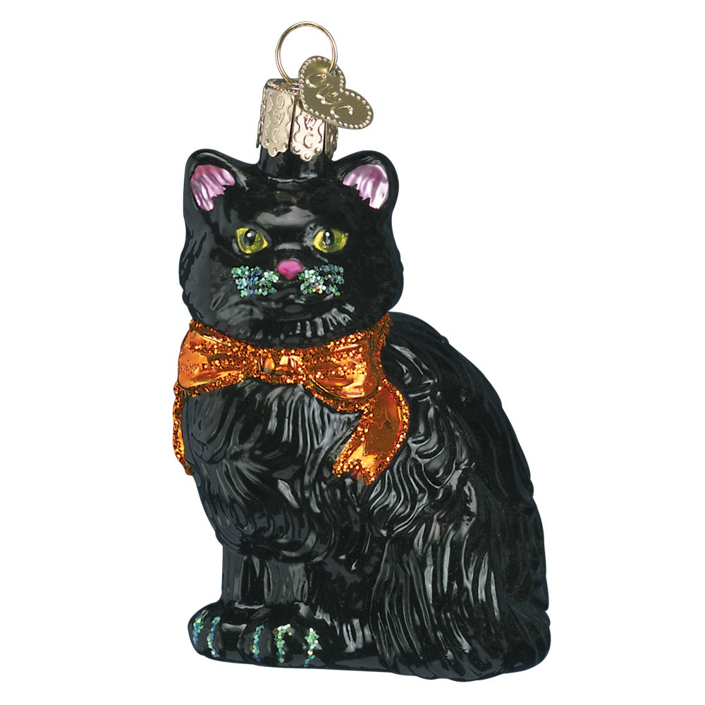 Halloween Kitty Ornament by Old World Christmas at Montana Gift Corral