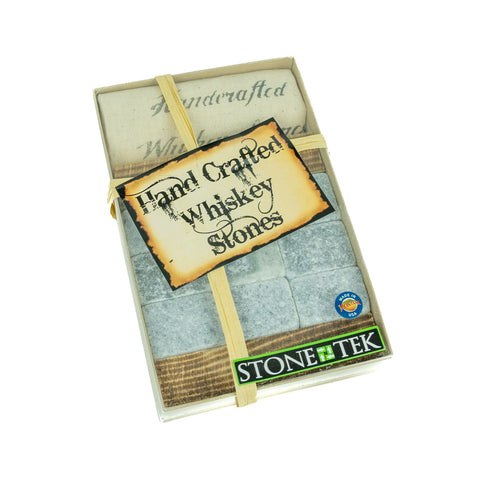 The Whiskey Stone Gift Box Sets by Stonetek LLC is a great gift for any connoisseur of Scotch, Bourbon, and Whiskey!