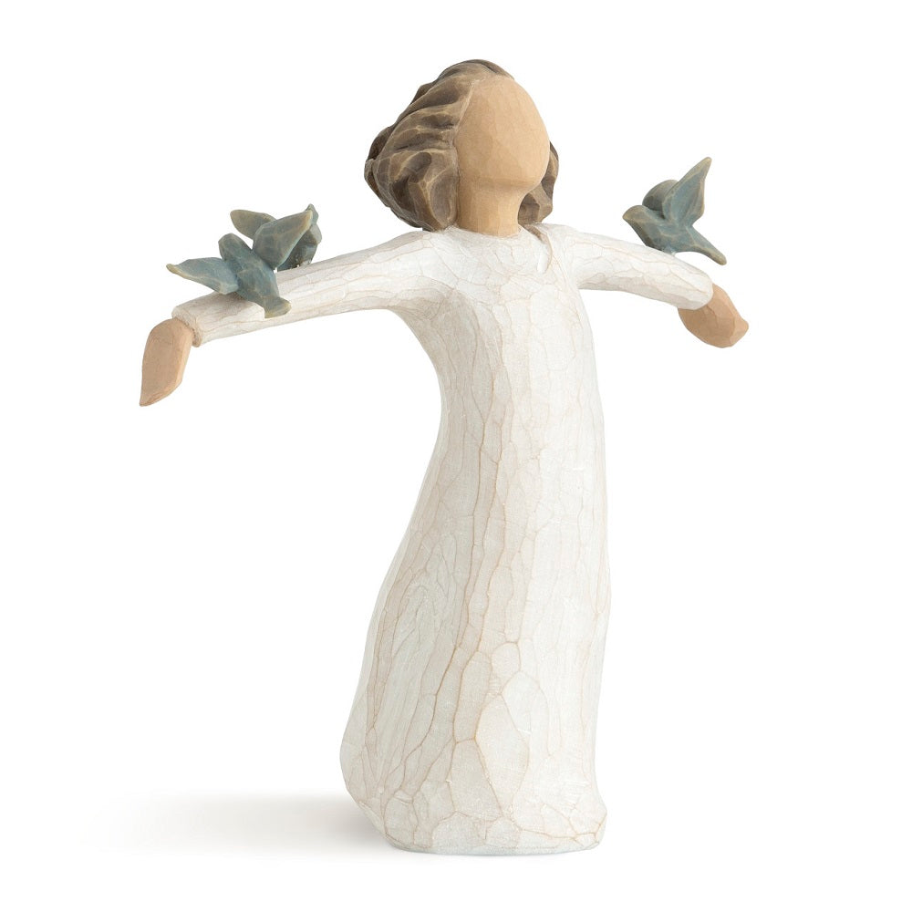 Happiness Willow Tree Figurine by Susan Lordi from Demdaco at Montana Gift Corral