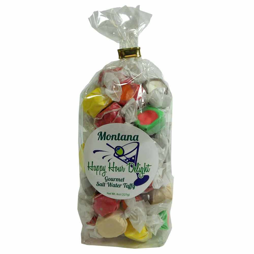 Happy Hour Salt Water Taffy- 8oz