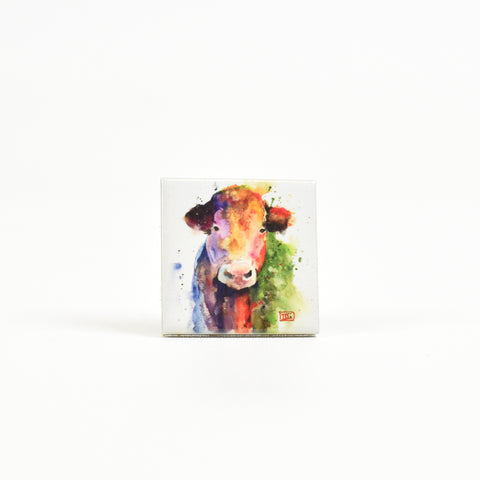 Happy Cow Ranch Animal Ceramic Watercolor Magnets by Dean Crouser at Montana Gift Corral