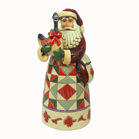 Heartwood Creek Canadian Santa Figurine by Jim Shore