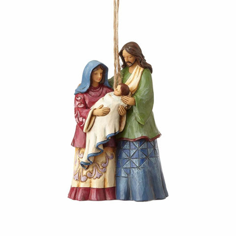Heartwood Creek Holy Family Ornament by Jim Shore