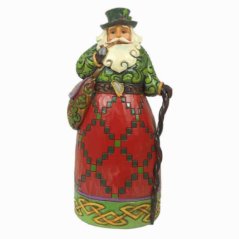 Heartwood Creek Irish Santa Figurine by Jim Shore