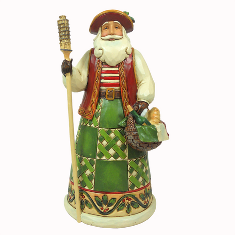 Heartwood Creek Italian Santa Figurine by Jim Shore