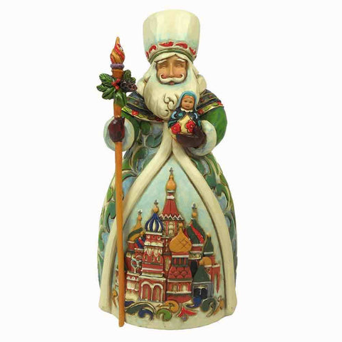 Heartwood Creations Russian Santa Figurine by Jim Shore