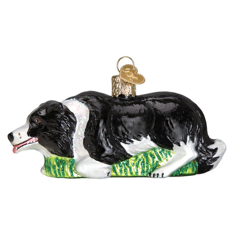 Herding Boarder Collie Christmas Ornament by Old World Christmas at Montana Gift Corral