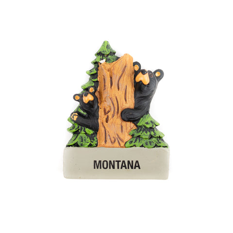 The Bearfoots Hide & Seek Magnet by Jeff Fleming makes a great quality souvenir for you to reminisce your fond memories of Montana to!