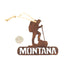 Hiker Rustic Montana Ornament by Recherche Furnishings