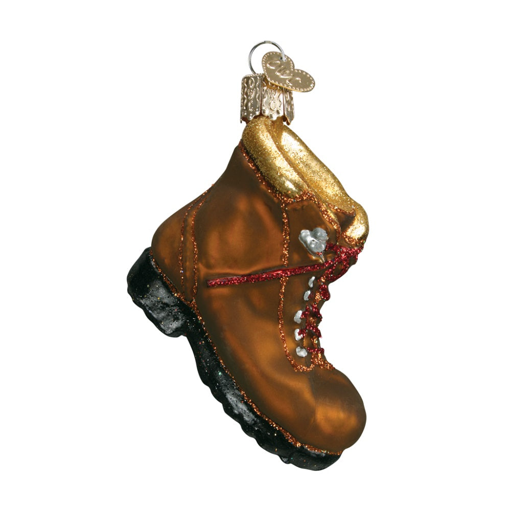 Hiking Boot Christmas Ornament by Old World Christmas at Montana Gift Corral