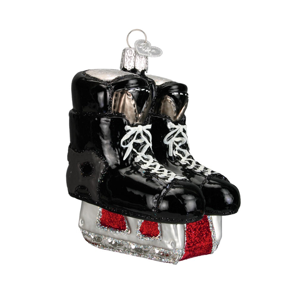 Hockey Skates Christmas Ornament by Old World Christmas at Montana Gift Corral