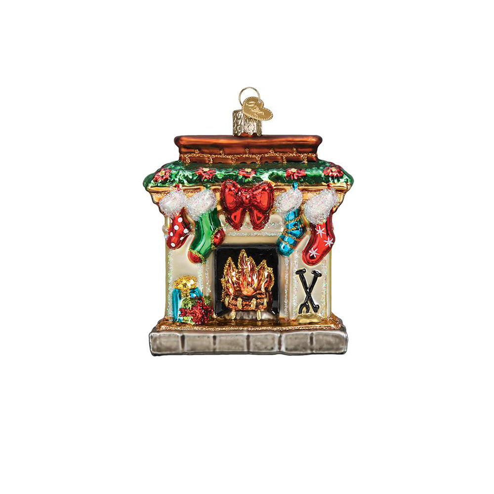 Holiday Hearth Christmas Ornament by Old World Christmas