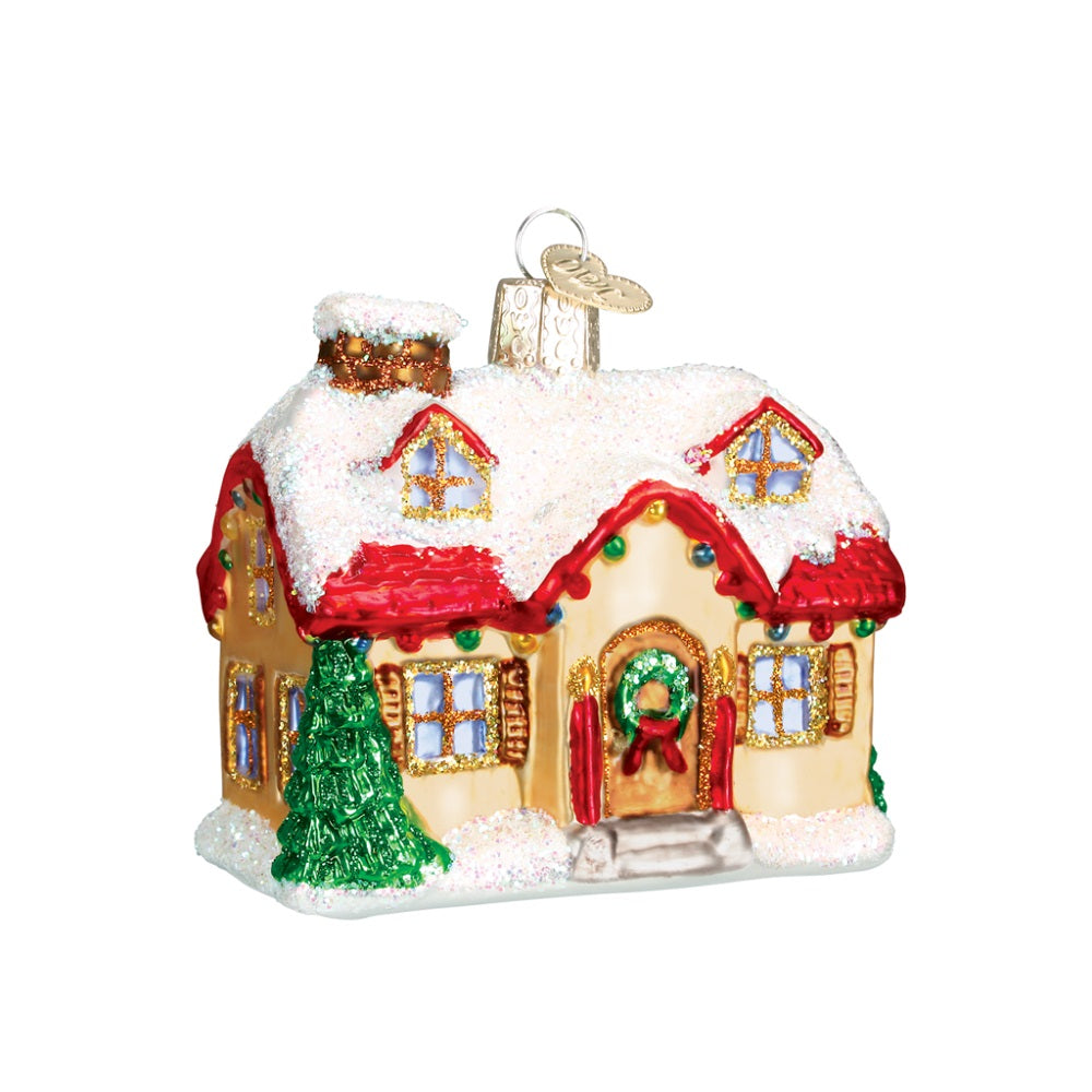 Holiday Home Christmas Ornament by Old World Christmas at Montana Gift Corral
