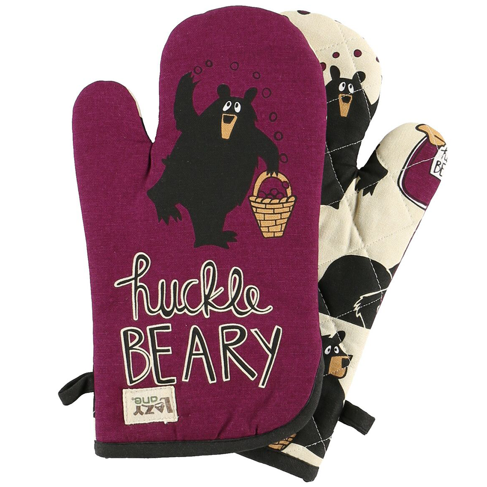 Huckleberry Oven Mitt by Lazy One (68927)