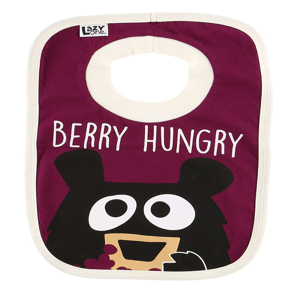 Huckleberry Bib by Lazy One