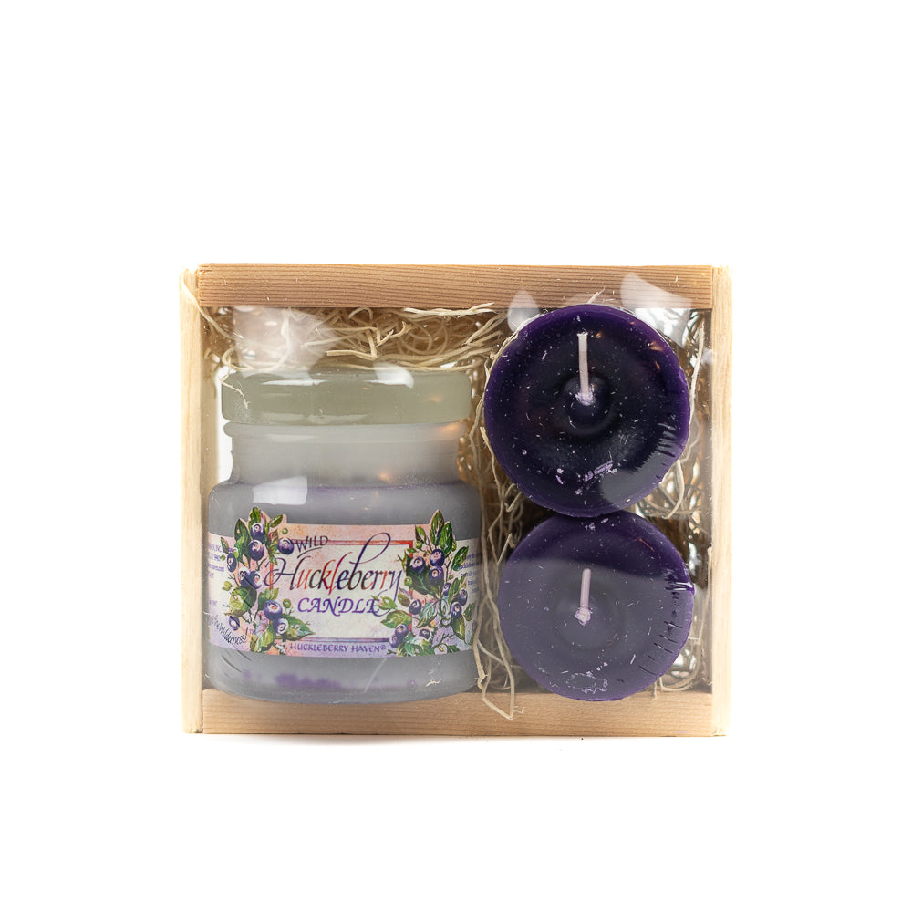 Huckleberry Candle Gift Crate by Huckleberry Haven