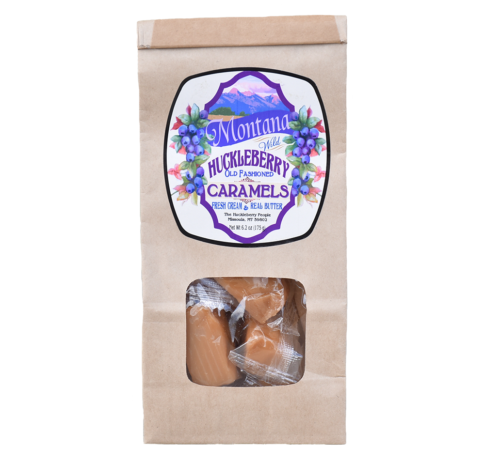 Wild Huckleberry Caramels by Huckleberry People