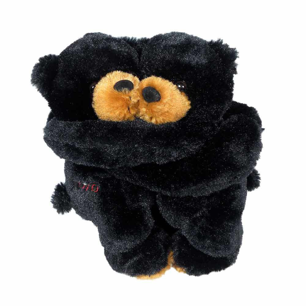 Hugging Black Bear- 10 inches