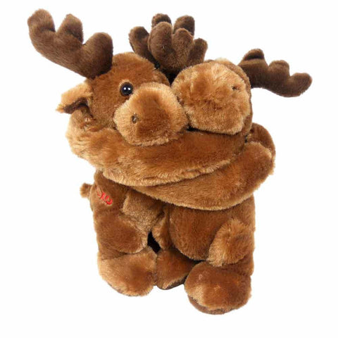 Hugging Moose- 10 inch