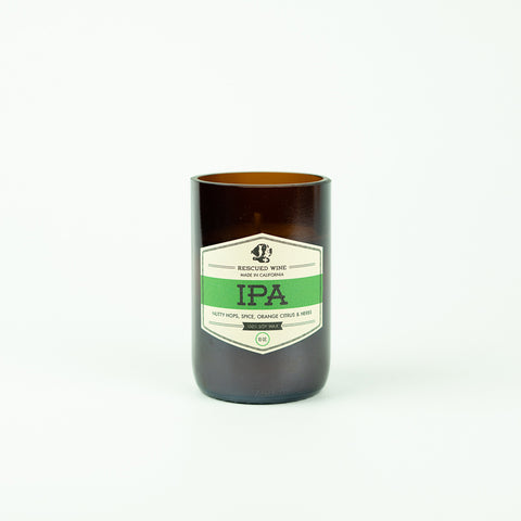 IPA Soy Candle by Rescued Wines