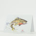 Jumping Trout Aquatic Watercolor Greeting Cards by Dean Crouser at Montana Gift Corral