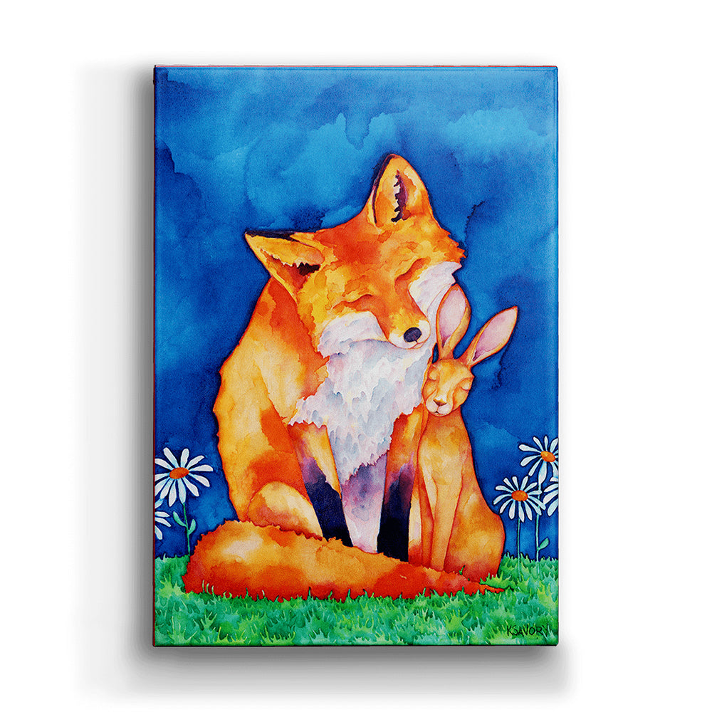 Karon Savory An Unlikely Love Metal Box Wall Art by Meissenburg Designs