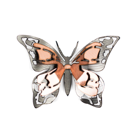 Large Copper Admiral Butterfly by H&K Studios