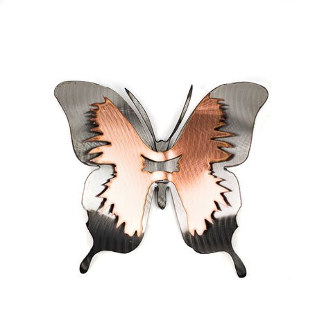 Large Copper Swallowtail Butterfly by H&K Studios
