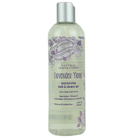 Lavender Ylang Moisturizing Bath and Shower Gel by Natural Inspirations