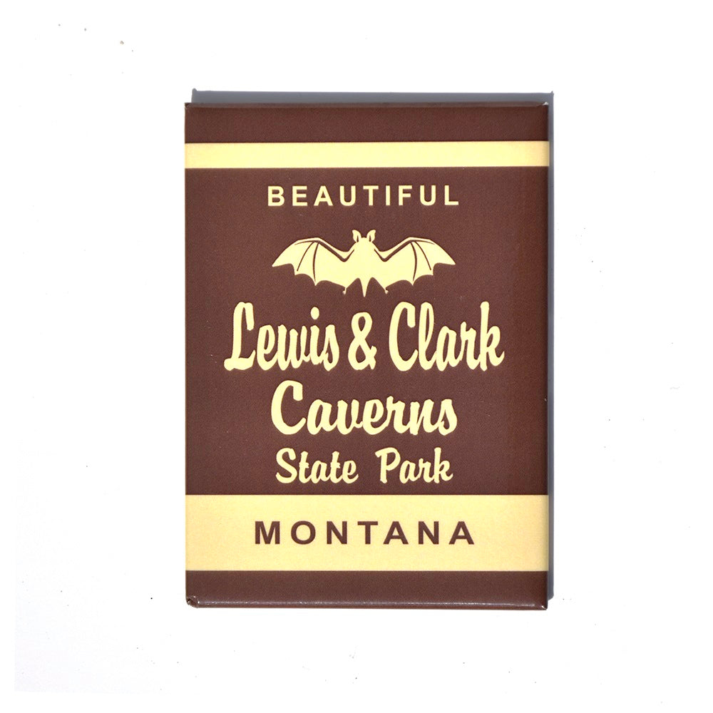 Lewis and Clark Caverns State Park Marker Magnet at Montana Gift Corral