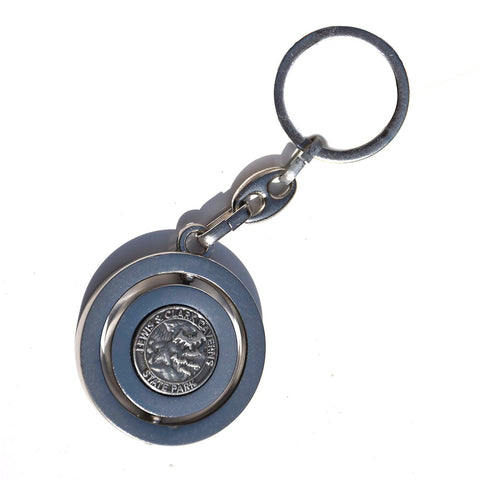 Lewis and Clark Cavern State Park Spinner Key Ring by Dutch American Import Trading