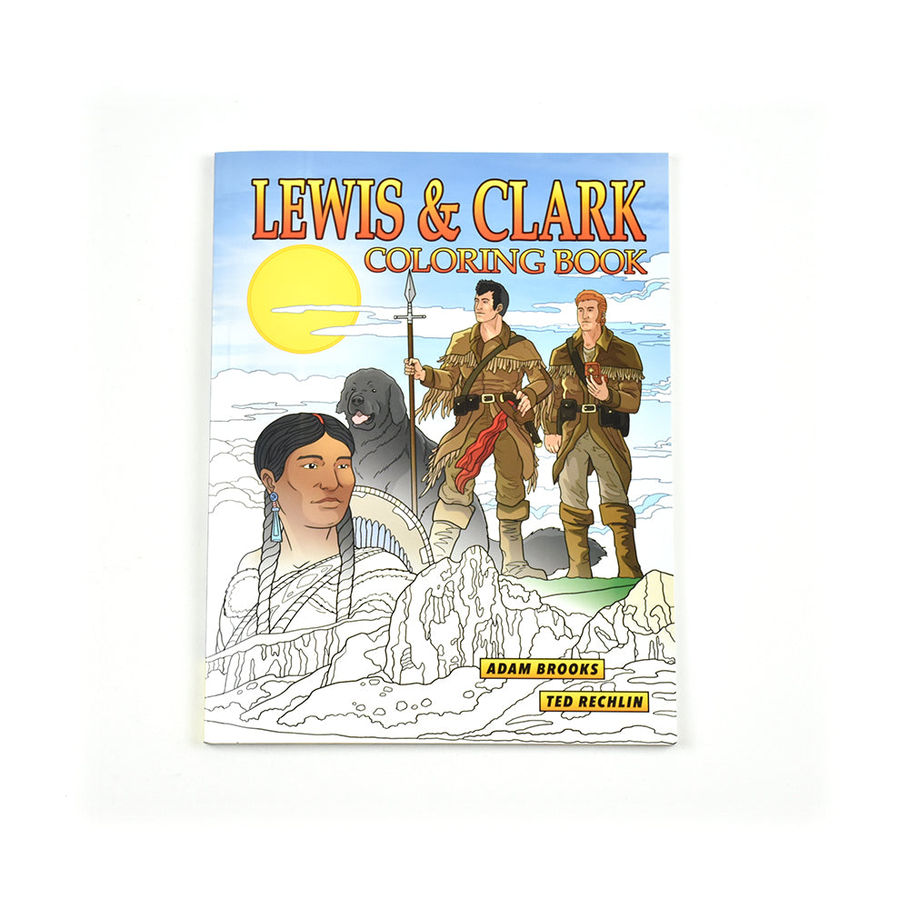 Lewis &  Clark Coloring Book by Adam Brooks and Ted Rechlin from Farcounty Press at Montana Gift Corral