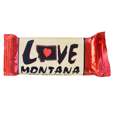 Love Montana State Chocolate Candy Bar by Huckleberry People