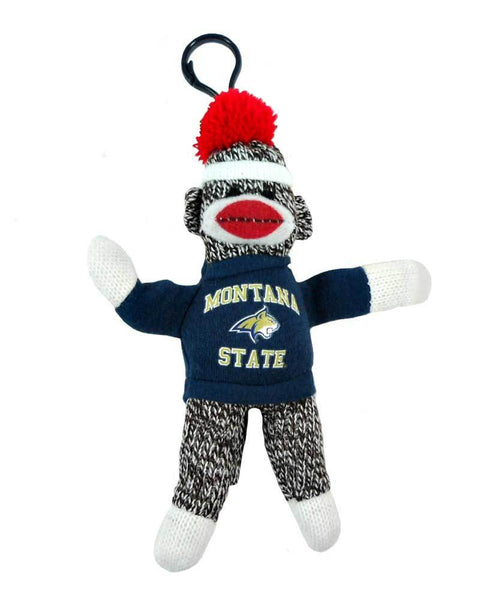 "4"" MSU Sock Monkey Keychain"