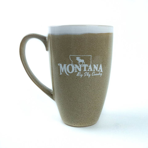 Montana 15oz Pottery Glaze Coffee Mug by The Hamilton Group