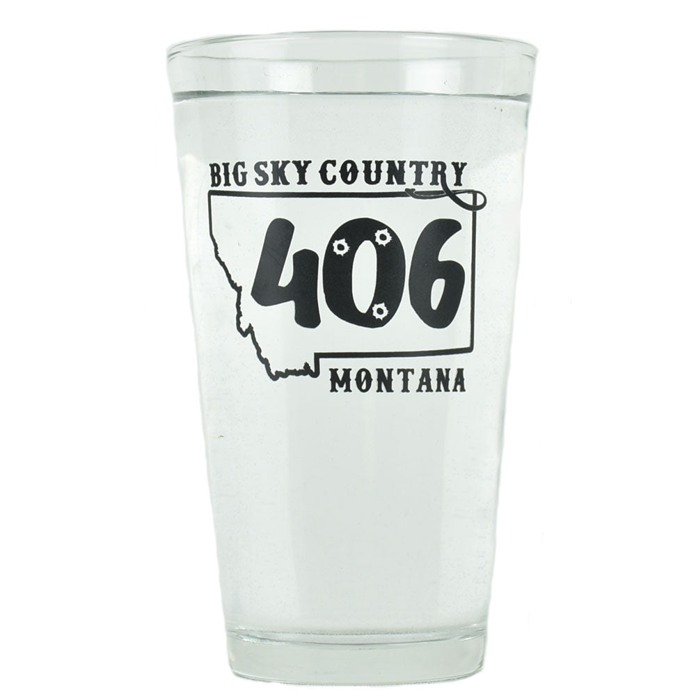 MT 406 Logo Glass by Montana Mugs