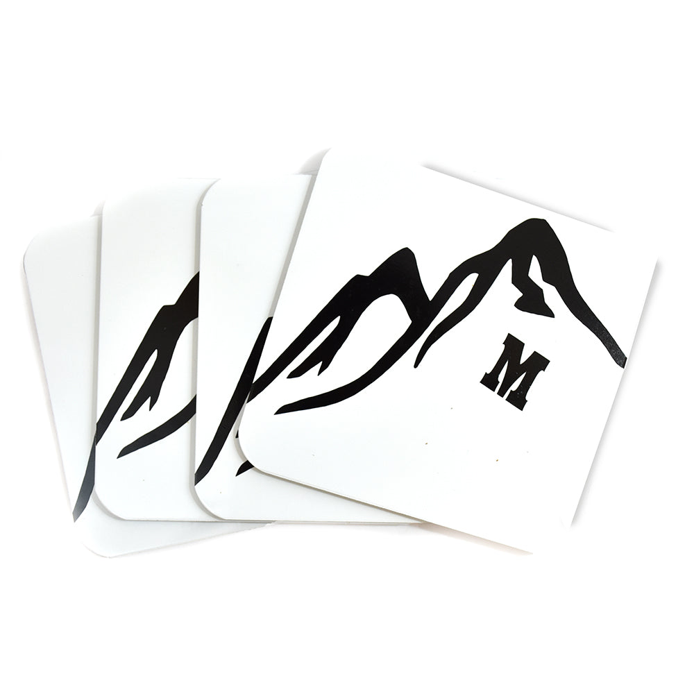 M Montana Coasters by Signs of the Mountains at Montana Gift Corral