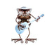 Medium Gnome Be Gone Cowboy with Guitar by Fred Conlon by Sugarpost at Montana Gift Corral
