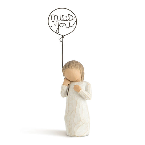 Miss You Willow Tree Figurine by Susan Lordi from Demdaco at Montana Gift Corral