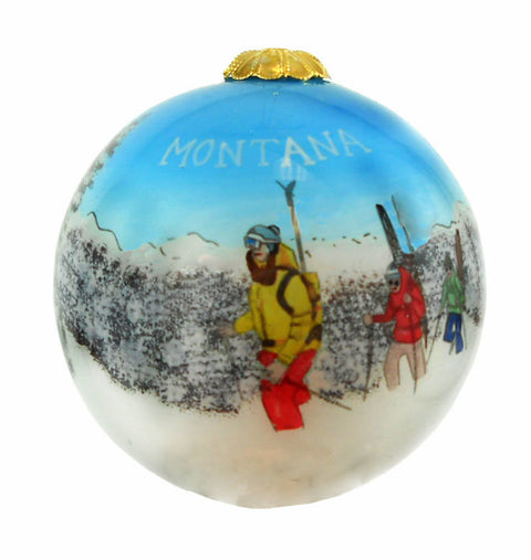 Montana Back Country Skiers Ornament