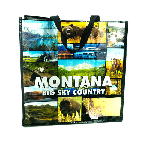 Montana Full Color Tote Bag by The Hamilton Group