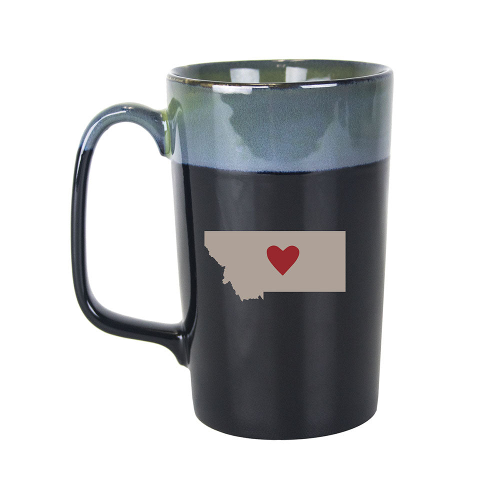 Montana Heart Mug by  Big Sky Carvers