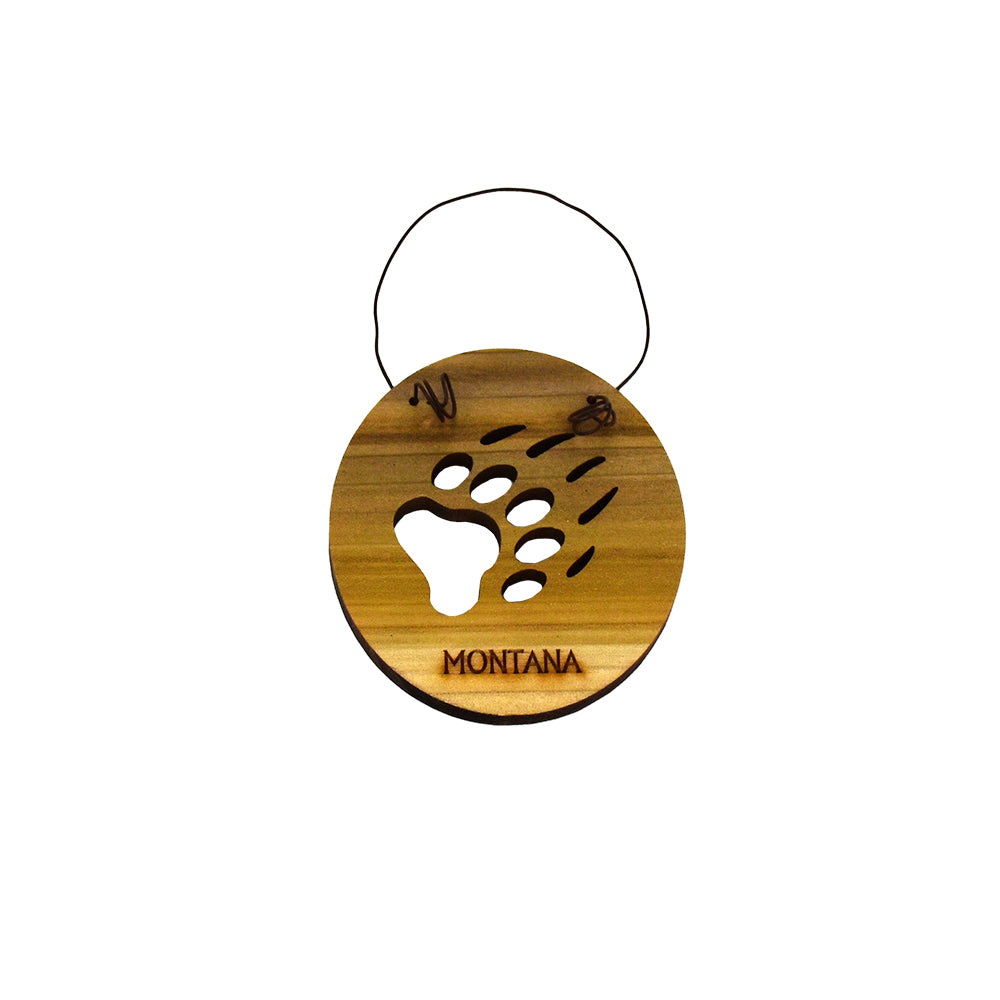 Montana Ornaments by Wood You Tell Me (3 styles)