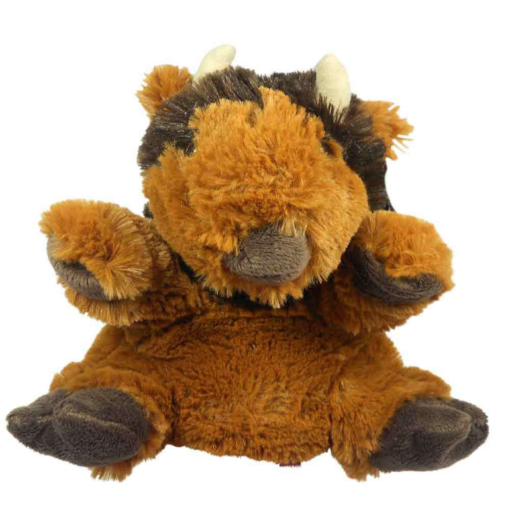 Buffalo Hand Puppet 9-inches