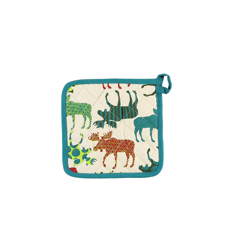 Pattern Moose Pot Holder by Lazy One