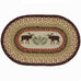 Moose Pinecone Placemat by Capitol Earth Rugs