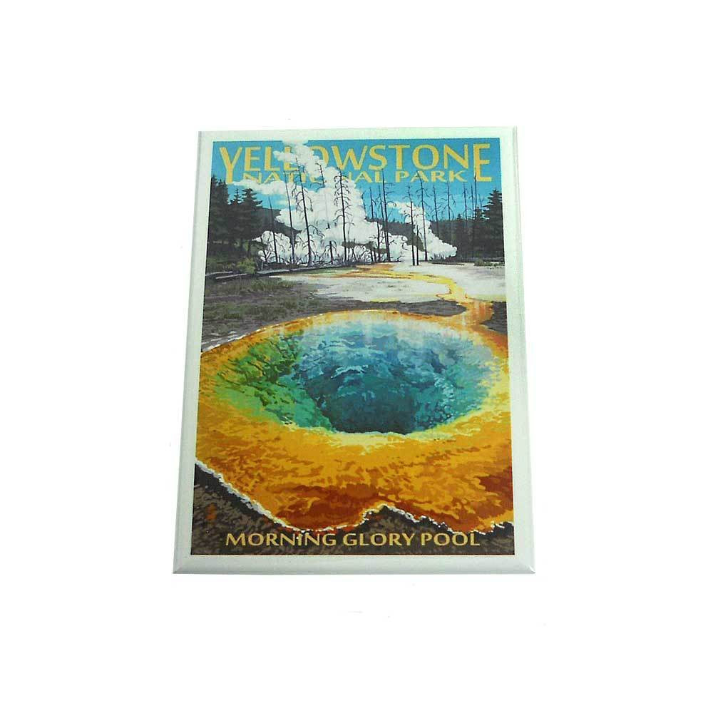 Morning Glory Pool Yellowstone National Park Magnet