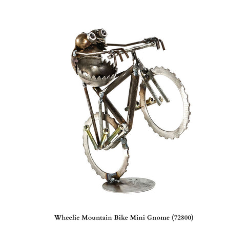Mini Mountain Bike Wheelie Gnome Be Gone