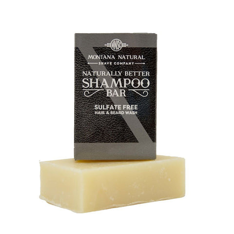 Mountain Man Shampoo Bar and Beard Wash by Montana Natural Shave Company
